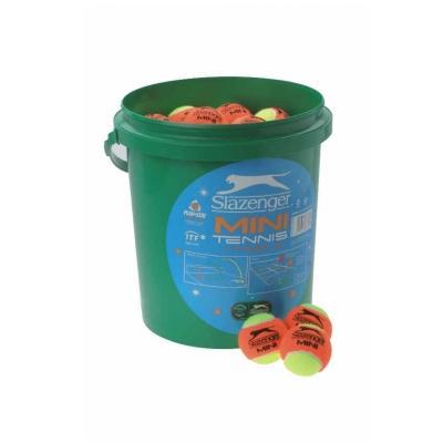 slazenger-mini-orange-low-compression-tennis-balls-bucket-of-60-balls(842)