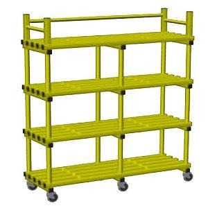 vynarac-double-mobile-storage-unit-with-castors-yellow(593)
