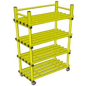 vynarac-single-mobile-storage-unit-with-castors-yellow(589)